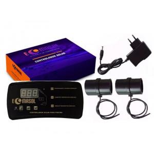 Controlador de temperatura (CDT) para aquecedores solares - Ecomasol