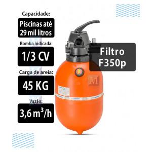 Filtro F350P para Piscinas 29 mil Litros Nautilus