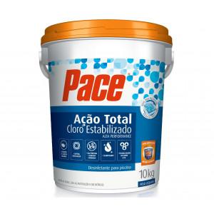 Cloro granulado Pace Ação total - balde 10kg - hth