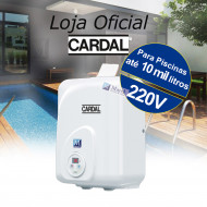 Aquecedor para piscinas infláveis até 7500L 3kw 220V - Cardal