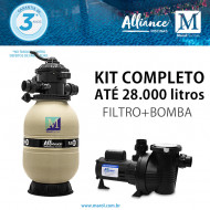 Filtro para piscinas até 28 mil litros FA-30 Alliance