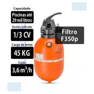 Alavanca da Válvula Bipartida para filtros Nautilus