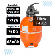 Sistema Drenante Completo para filtro F450 Nautilus