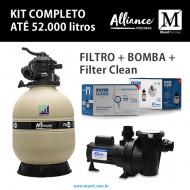 Filtro para piscinas até 52 mil litros FA-40 Alliance