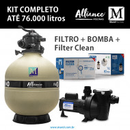 Filtro para piscinas até 76 mil litros FA-50 Alliance