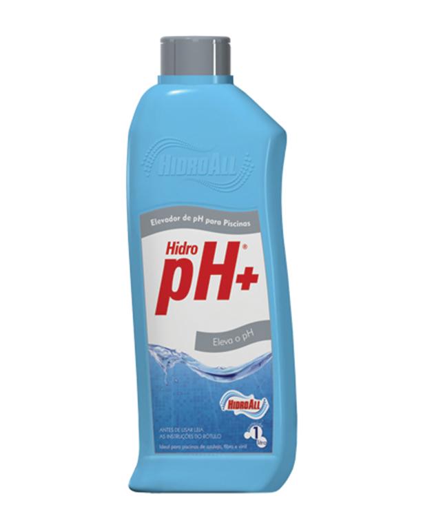 Elevador de ph l quido hidroall hidro ph 1 litro for Liquido sellador para piscinas
