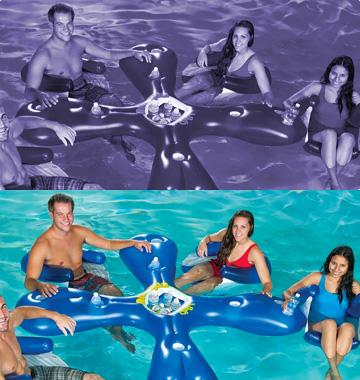 Boias e infláveis para piscina