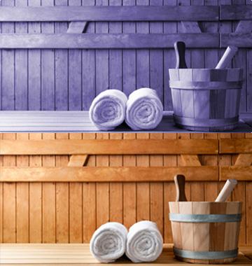 Saunas e acessórios para saunas