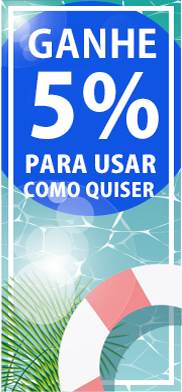 5% BOAS VINDAS