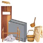 Acessórios para saunas secas