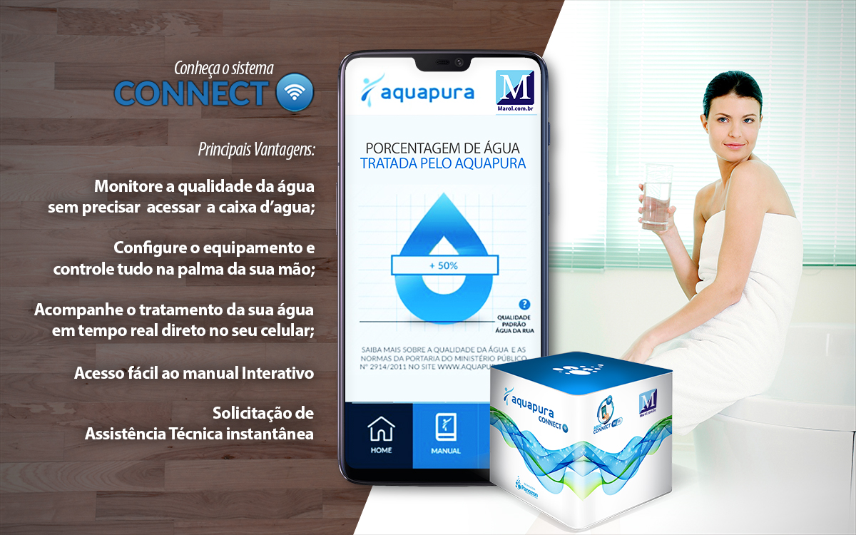 sistema connect aquapura