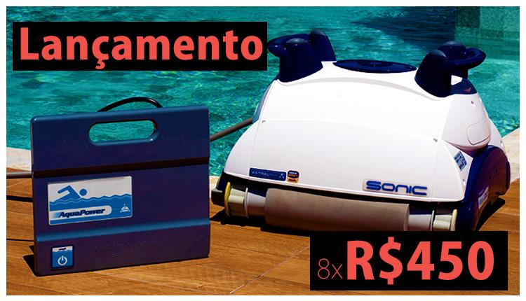 Super promoção de aspirador automático para piscina